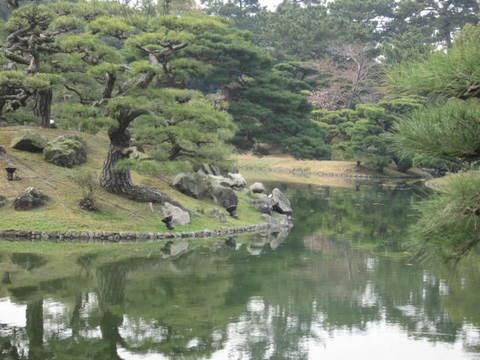 2・栗林公園松と池.JPG
