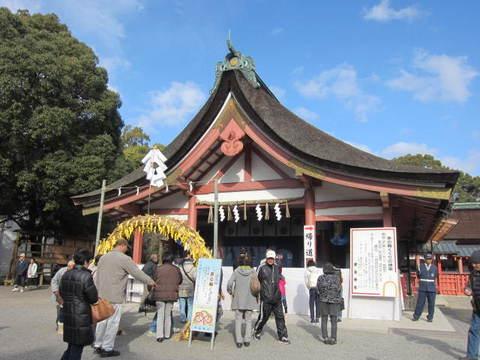 2津島神社茅の輪.JPG