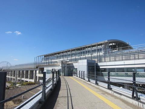 リニモ・公園駅.JPG