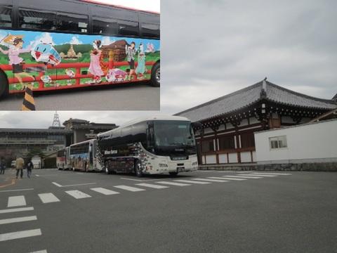 三十三間堂とバス.JPG
