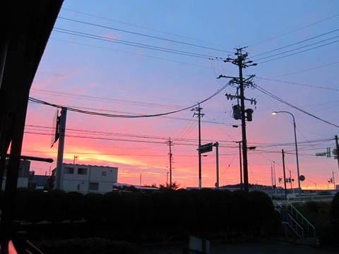 朝焼け・4.JPG