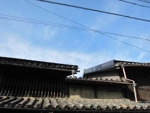 鞆の浦・散策9屋根1.JPG