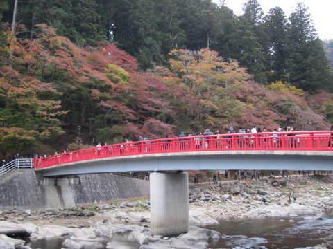 香嵐渓赤い橋4.JPG
