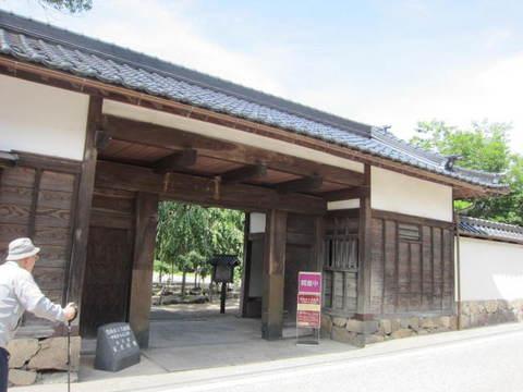 1・6出石家老屋敷・門.JPG