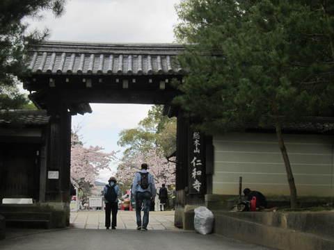 3・仁和寺門.JPG