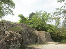 苗木城・石垣1.JPG