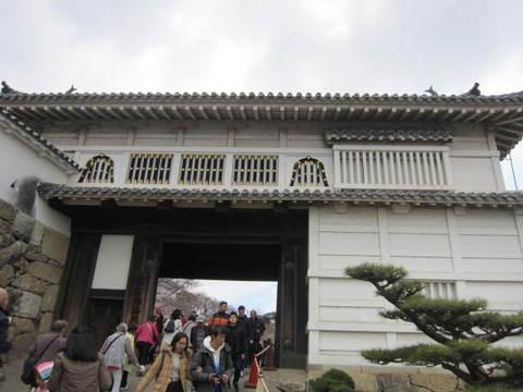 2の7姫路城内門・1.JPG